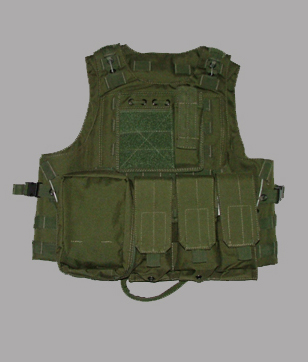 Amphibious Tactical Vest of Steel Wire Style